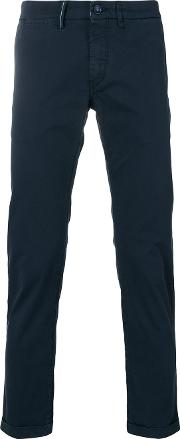 Rehash , Re Hash Mucha Cropped Trousers Men Cottonspandexelastane 31, Blue