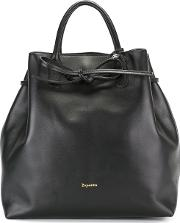 Repetto , Drawstring Tote Women Calf Suede One Size, Black