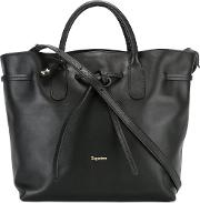 Repetto , Trapeze Tote Women Leather One Size, Black