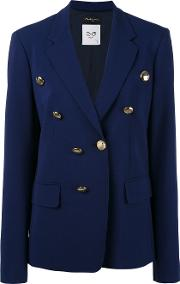 Rossella Jardini , Double Breasted Blazer Women Triacetatepolyesteracetateviscose 46, Blue