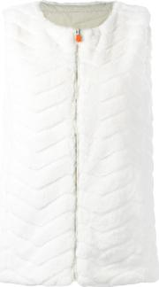 Save The Duck , Fury Gilet Women Nylonpolyester 0, White