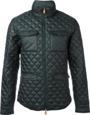 Save The Duck , Quilted Jacket Men Nylonpolyester Xxl, Green