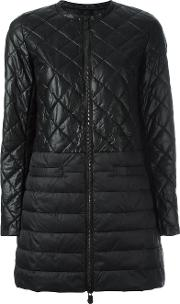Save The Duck , Quilted Padded Coat Women Nylonpolyesterpolyurethaneviscose 3, Black