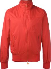 Save The Duck , Windbreaker Zip Jacket Men Nylonpolyester L, Red