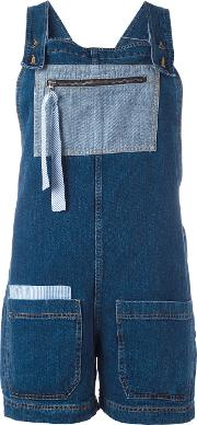 Semicouture , Denim Dungarees Women Cotton 38, Blue