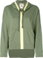 Semicouture , Zip Up Hoodie Women Cotton 40, Green