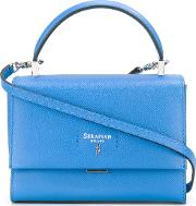 Serapian , Sevoe Crossbody Bag Women Leather One Size, Women's, Blue