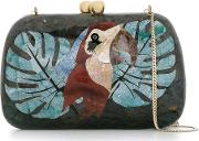 Serpui , Mother Of Pearl Clutch Women Mother Of Pearl One Size, Black