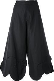 Societe Anonyme , Circles Culottes Women Cottonlinenflax 44, Black