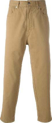 Societe Anonyme , 'deep Chino' Trousers Men Cotton 52, Nudeneutrals