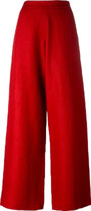 Societe Anonyme , Summerlene Pants Women Linenflax 44, Red