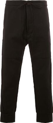 Song For The Mute , Cropped Trousers Men Cottonnylonpolyesterwool 52, Black