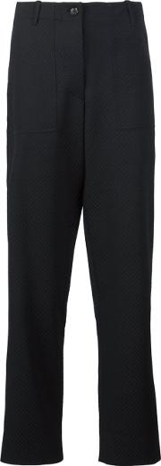 Sophie Theallet , Pique Highwaisted Trousers Women Polyesterrayon 6, Black