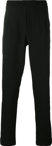 Soulland , Pino Drawstring Trousers Men Cottonpolyester M, Black