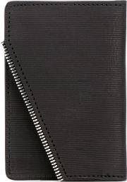 South Lane , Raw Black Wallet Unisex Calf Leather One Size