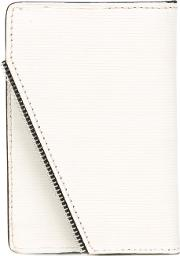 South Lane , Raw White Wallet Unisex Calf Leather One Size