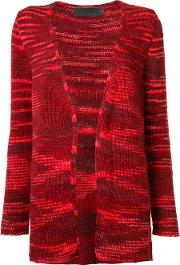 The Elder Statesman , Cashmere Open Front Cardigan Women Cashmere Xs, Red