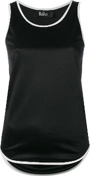 The Reracs , Classic Tank Top Women Polyesterviscose 38, Black