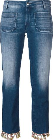 The Seafarer , Lord Jim New Special Jeans Women Cottonpolyesterspandexelastane 28, Women's, Blue