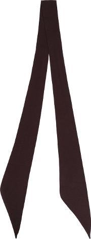 The Soloist , Thin Scarf Unisex Silk One Size, Brown