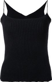Theatre Products , Knitted Cami Top Women Cottonpolyester One Size, Black