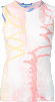 Theatre Products , Printed Tank Top Women Cotton One Size, Pinkpurple