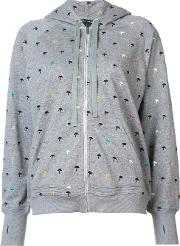 Thomas Wylde , 'trip Out' Hoodie Women Cottonpolyester Xs, Grey