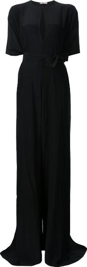 Tome , 'charmeuse Oversized' Jumpsuit Women Silk S, Black