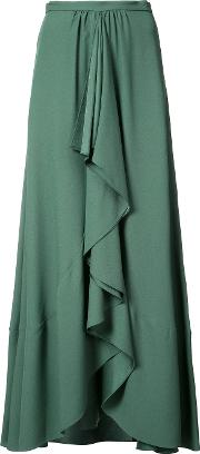 Tome , Pleated Skirt Women Acetateviscose 4, Green