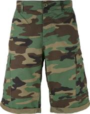 Tommy Jeans , Camouflage Print Cargo Shorts Men Cotton 31, Green