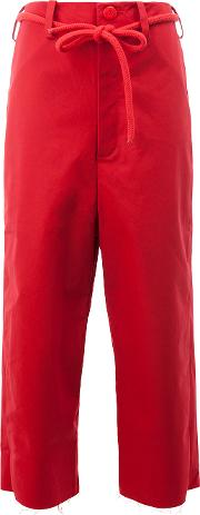 Toogood , The Sculptor Trousers Women Cotton 2, Red