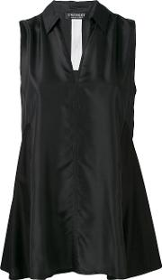 Twinset , Twin Set Sleeveless Shirt Women Silkcotton Xxs, Black
