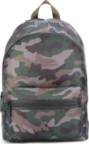 Uri Minkoff , Paul Camouflage Backpack Men Polyester One Size