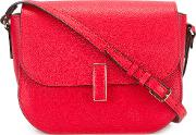 Valextra , Iside Shoulder Bag Women Calf Leather One Size, Women's, Red