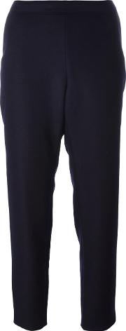 Vanessa Seward , Tapered Trousers Women Cottonnylonwool 40, Blue