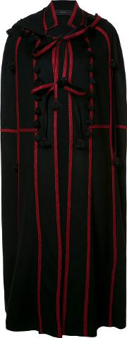Vita Kin , Oversized Cape Women Wool S, Black