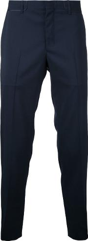 Wooyoungmi , Tailored Trousers Men Wool 44, Blue