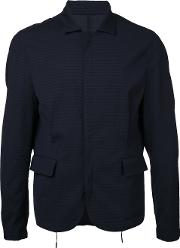 Wooyoungmi , Zip Up Jacket Men Elastodienepolyamidewool 50, Blue