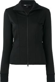 Y3 , Y 3 Panelled Jacket Women Cottonpolyester M, Black