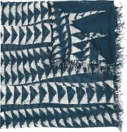 Yigal Azrouel , 'sansseviera' Scarf Women Modalcashmere One Size, Blue