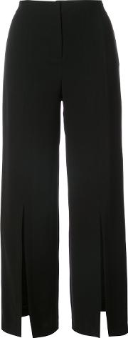 Yigal Azrouel , Wide Legged Trousers Women Polyester 10, Black