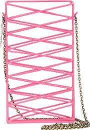 Anndra Neen , 'harlequin' Iphone Case Women Metal Other One Size, Pinkpurple