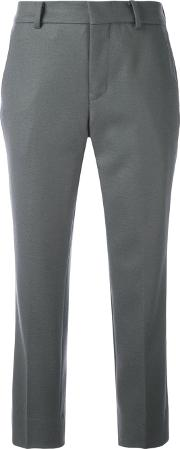 08sircus , Cropped Tailored Trousers Women Cuprowool 2, Women's, Grey