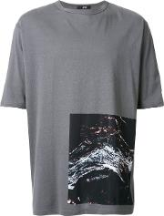 Assin , Abstract Print T Shirt Unisex Cotton L