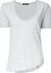 Bassike , Scoop Neck T Shirt Women Cotton 10