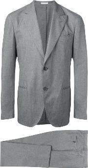 Boglioli , Two Piece Suit Men Cottonacetatecupro 52, Grey