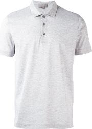Canali , Classic Polo Shirt Men Cotton 52, Grey