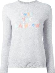 Chinti And Parker , 'over The Rainbow' Jumper Women Cashmere Xs