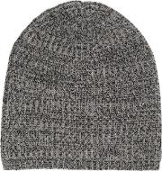 Denis Colomb , Heavy Knit Cap Unisex Cashmere One Size, Grey