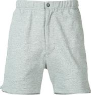 Engineered Garments , Deck Shorts Men Cottonnylonpolyester S, Grey